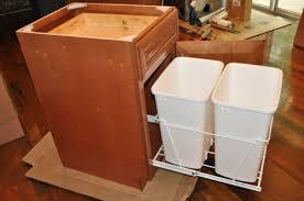 Kitchen Cupboard Garbage Bins by Enjoyable Kitchen Trash Cabinet Nice Decoration Amish Trash Bins