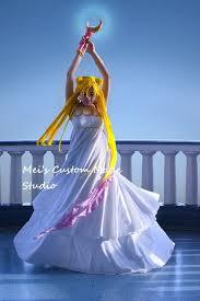 Ball Gown Halloween Costumes Custom Princess Serenity Costume Wedding Victorian Ball Gown