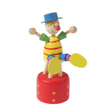 clown puppets for sale colorful wooden clown puppets toys doll kids puppets