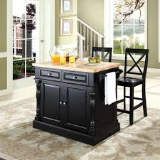 black kitchen island with butcher block top kitchen island with stools block top cole papers design decor