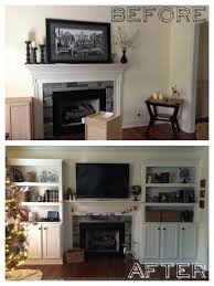 built in bookshelves around fireplace markable creations
