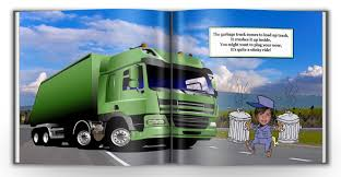 personalized vehicle book for boys with photo face and name my
