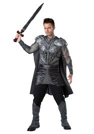 Halloween Costumes Storm Dark Medieval Knight Costume