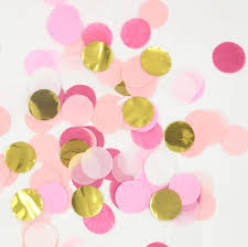 pink and gold baby shower decorations 20g bag 1 inch pink gold wedding confetti baby shower decorations