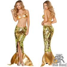 mermaid halloween costume for adults women u0027s alluring golden mermaid costume