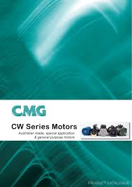 cmg cw series motors catalogue