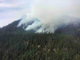 Wildfire Evacuation Stages by Homes Evacuated State Route 410 Closed As Norse Peak Fire Grows