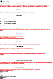 one page business plan sean o u0027leary