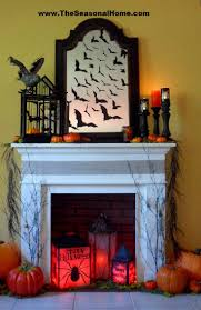 Halloween Party Room Decoration Ideas 326 Best Halloween Mantels U0026 Fireplaces Images On Pinterest