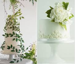 wedding cake gum trailing foliage wedding cake by happy cakes gumpaste