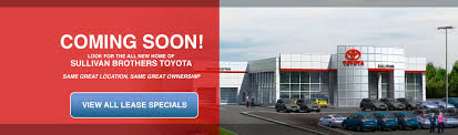 sullivan brothers toyota toyota sales u0026 service in plymouth ma