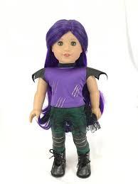 mal costume disney descendants 2 mal for american girl doll american