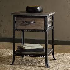 grey metal bedside table nightstand metal cube nightstand cheap spencer closed ikea bronze