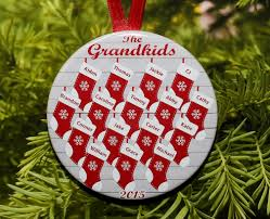grandparent ornaments personalized personalized christmas gifts for grandparents