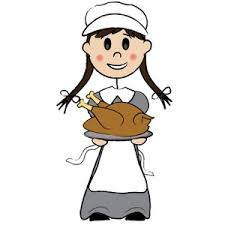 thanksgiving clipart image a pilgrim with a thanksgiving