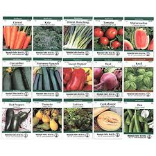 vegetable seeds for planting amazon com