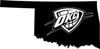 Okc Thunder Home Decor Okc Thunder Oklahoma Pride Vinyl Decal