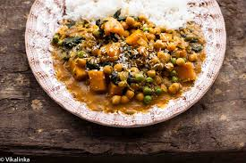 Butternut Squash And White Bean Soup Chickpea And Butternut Squash Curry Vikalinka