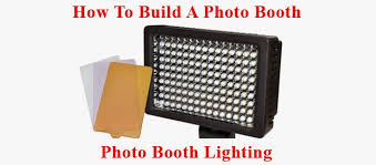 how to build a photo booth how to build a photo booth part 6 photo booth lighting photo
