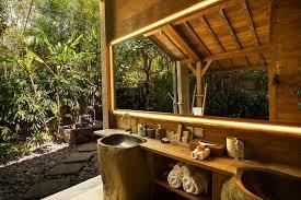 My Favourite Bali Outdoor Bathrooms A Modern Wayfarer - Balinese bathroom design