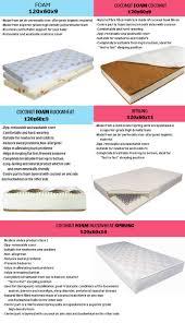 baby cot u0026 cot bed mattress hub foam coconut buckwheat sprung ebay