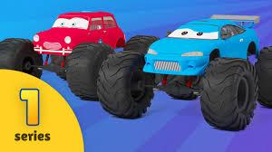 fire trucks monster truck stunt monster truck adventures new episode car wash monster truck