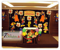 Decoration Ideas For Naming Ceremony Balloon Decorators And Party Planner