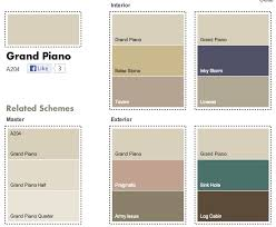 dulux grand piano matches house build walls pinterest