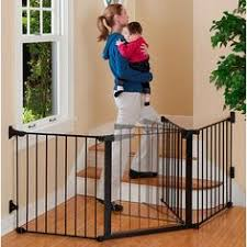 this is a great gate to surround and baby proof the