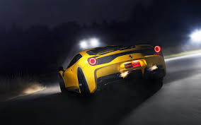 ferrari yellow and black yellow ferrari wallpaper on wallpaperget com