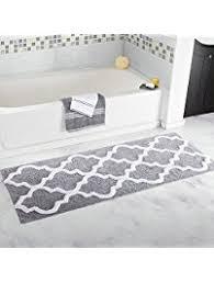 Gray Floor Bathroom - shop amazon com bath rugs