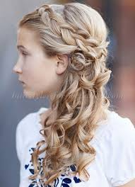 flowergirl hair flowergirl hairstyles braided hairstyle for flower