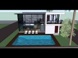 house plans with swimming pools home plan 3 d with swoomminpool modern house plans swimming pool