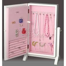 children s jewelry box white wall mount standing jewelry box only 99 95 plus free