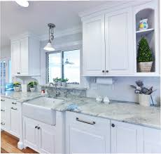 Glass Mosaic Tile Kitchen Backsplash Ideas Kitchen Backsplash White Farmhouse Kitchen Kitchen Cabinets And