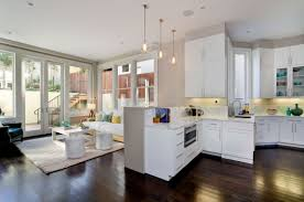 kitchen and family room ideas trendy family room decorating ideas with tv and fireplace on