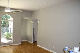 White Walls Grey Trim by Decorating White Walls Cream Trim Dorian Gray Paint Color