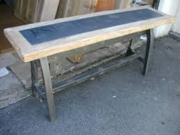 Ebay Console Table by Large Industrial Esprit Loft Console Table Reclaimed Wood