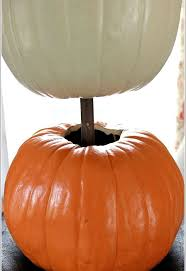 styrofoam pumpkins pumpkin topiary fall decorating ideas hometalk