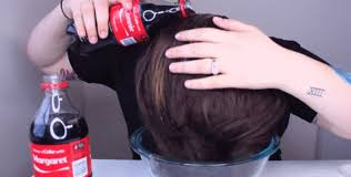 rinsing hair with coke is washing your hair in coke a good idea this blogger thinks so