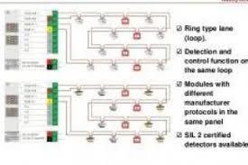 wiring diagram fire alarm semi addressable wiring diagram