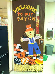 door decorations for pre k best fall ideas on thanksgiving