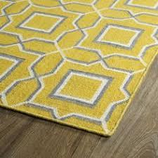 Yellow Area Rug 5x7 by Allen Roth Gray Rectangular Indoor Woven Area Rug Common 8 X