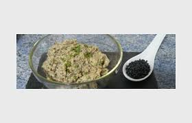 caviar recettes cuisine tartinade de caviar de lentilles beluga recette dukan conso par