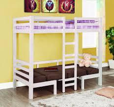 amazon com coaster home furnishings modern convertible twin over