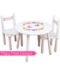 playroom table and chairs amazing deal on girls table chair set personalized tea party table