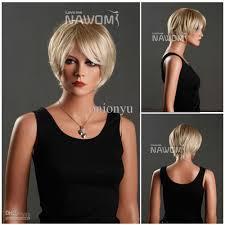 hongkong short hair style 2013 short hair wig office ladies wigs short blond wigs for women