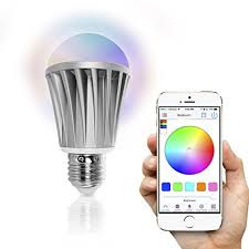 smart light bulbs amazon flux bluetooth led smart bulb wireless multi color changing light