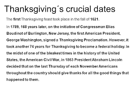 one of the most important holidays celebrated in the united states