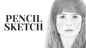 photoshop action pencil sketch effect photoshopdesire com youtube